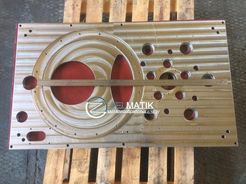 Плита нержавеющая размер 1191х710х28 мм, 12х18н10т