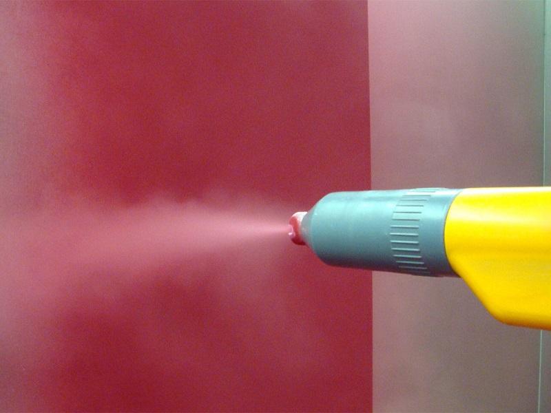 Подготовка и покраска алюминия порошковой краской