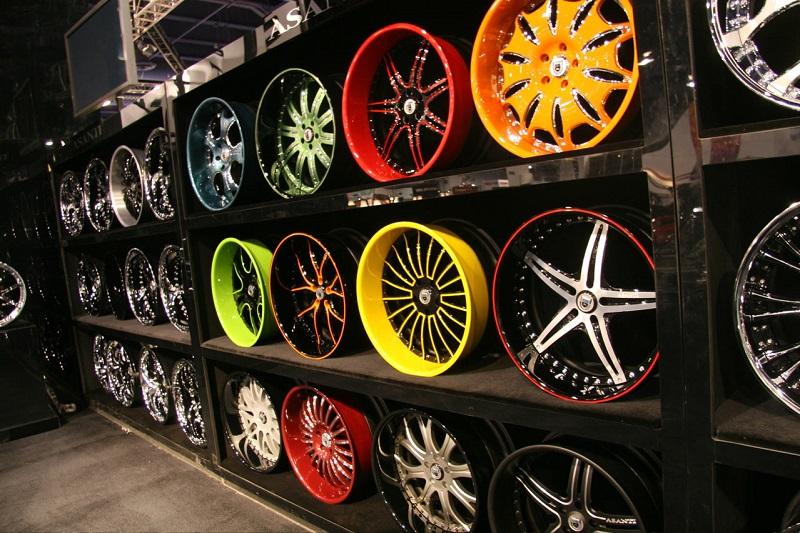Покраска колесных дисков поэтапно