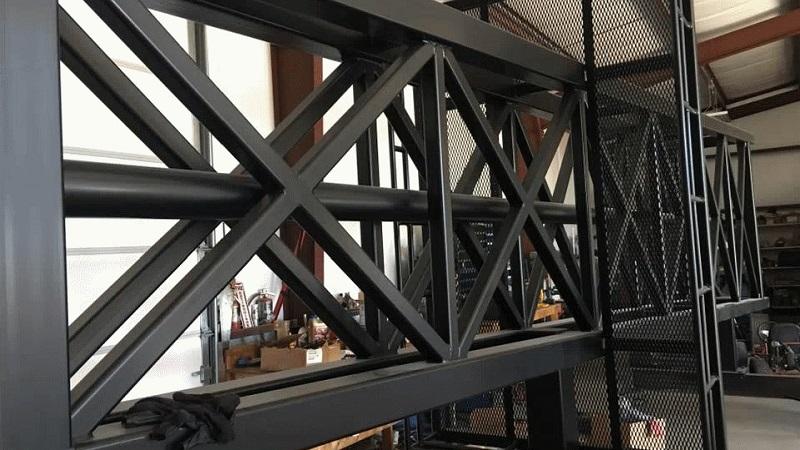 Порошковое окрашивание металлических конструкций