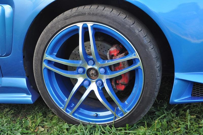 Автомобильный суппорт до покраски