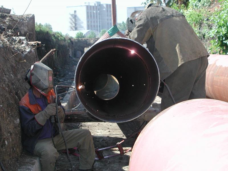 Ручная дуговая сварка магистральных труб