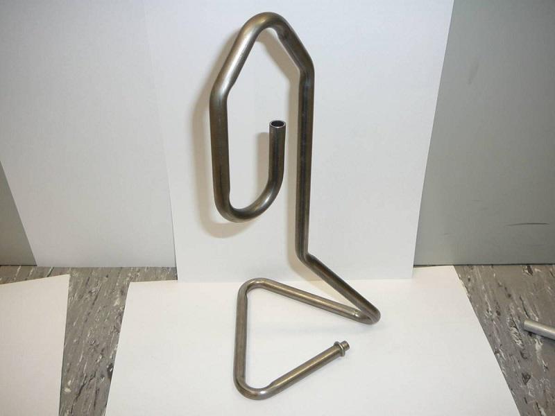 Пример работы трубогибочного станка с ЧПУ