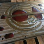 Плита нержавеющая 12х18н10т, размер 1191х710х28 мм