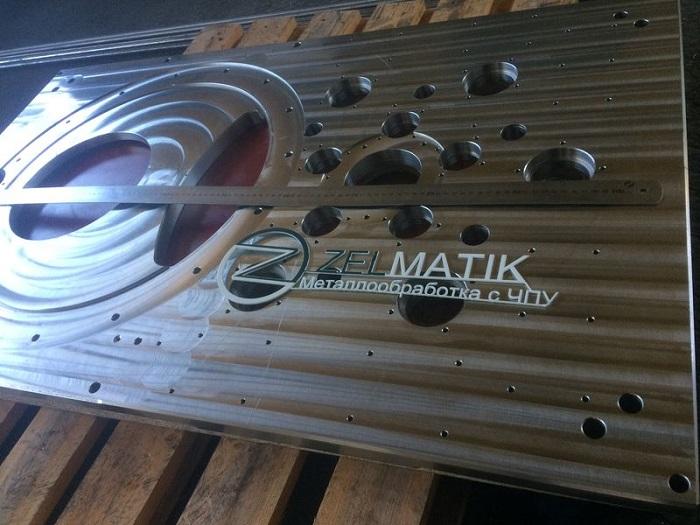 Плита нержавеющая размер 1191х710х28 мм