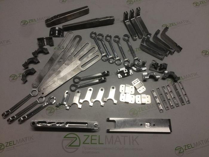 Комплект алюминиевых деталей