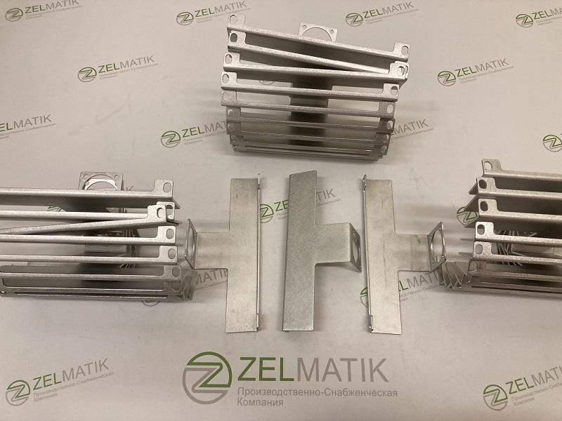 Комплект алюминиевых кронштейнов