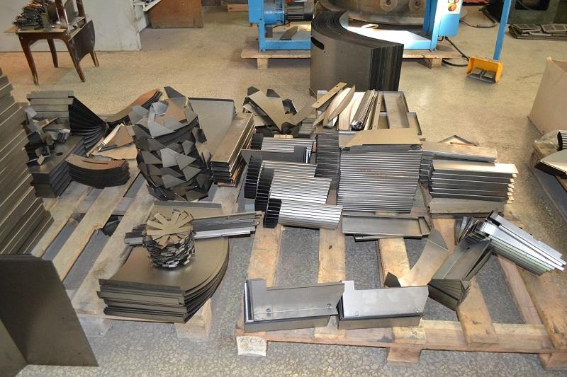 Примеры гибки металла разной толщины и формы