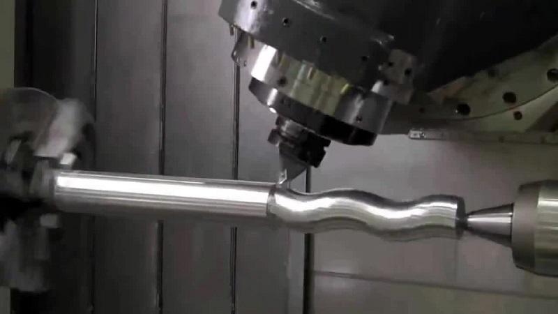 Автоматический процесс изготовления деталей на станке с ЧПУ