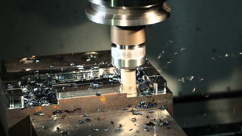 Фрезерная обработка металлических деталей