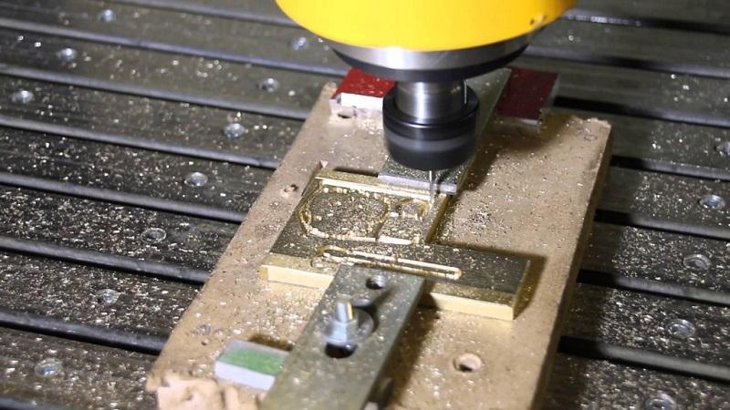 Обработка латуни на фрезерном станке с ЧПУ