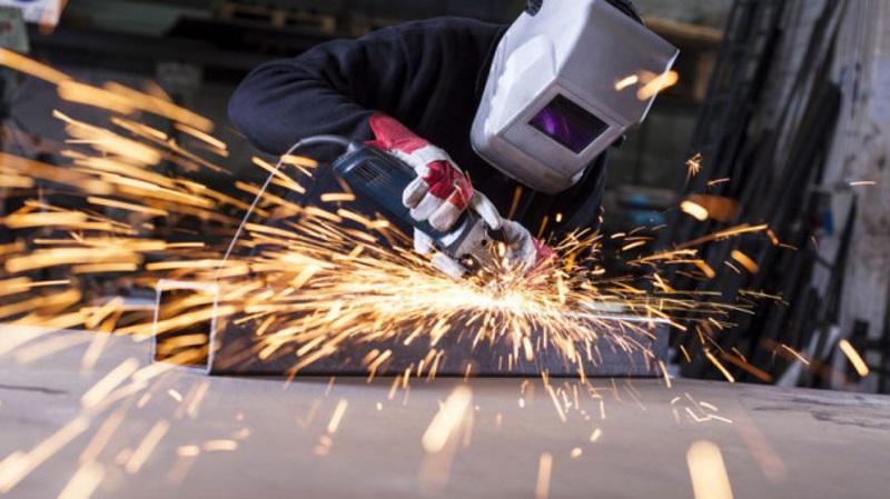 Обработка отдельных частей металлоконструкции