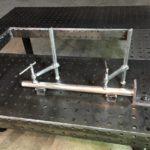 Сварочный стол с креплениями